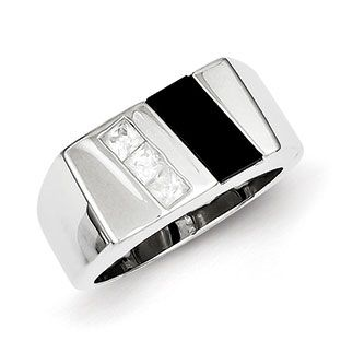 Men's CZ Black Onyx Ring In Sterling Silver Jewelry Our black onyx rings for men include mens onyx and diamond rings, men's onyx rings in yellow gold, white gold and sterling silver. Gemologica is proud to offer a premier line of men's gemstone and birthstone rings, most of which are custom made in New York City. Available Exclusively at Gemologica.com https://www.gemologica.com/mens-black-onyx-rings-c-28_46_64_104.html https://www.gemologica.com/mens-gemstone-rings-c-28_46_64.html