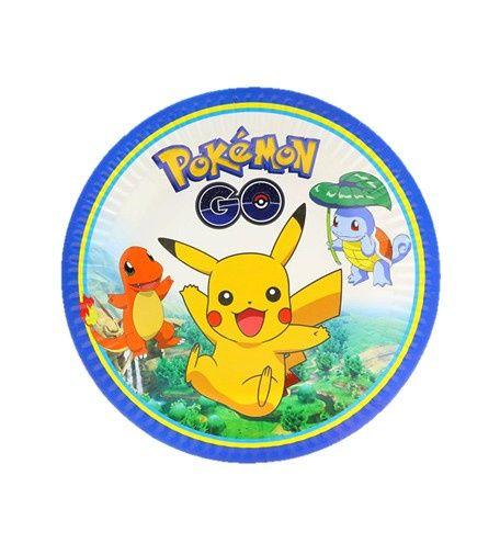 Pokemon borden | NIEUW bij Feestwinkel Altijd Feest voor een Pokemon themafeestje of een verjaardag