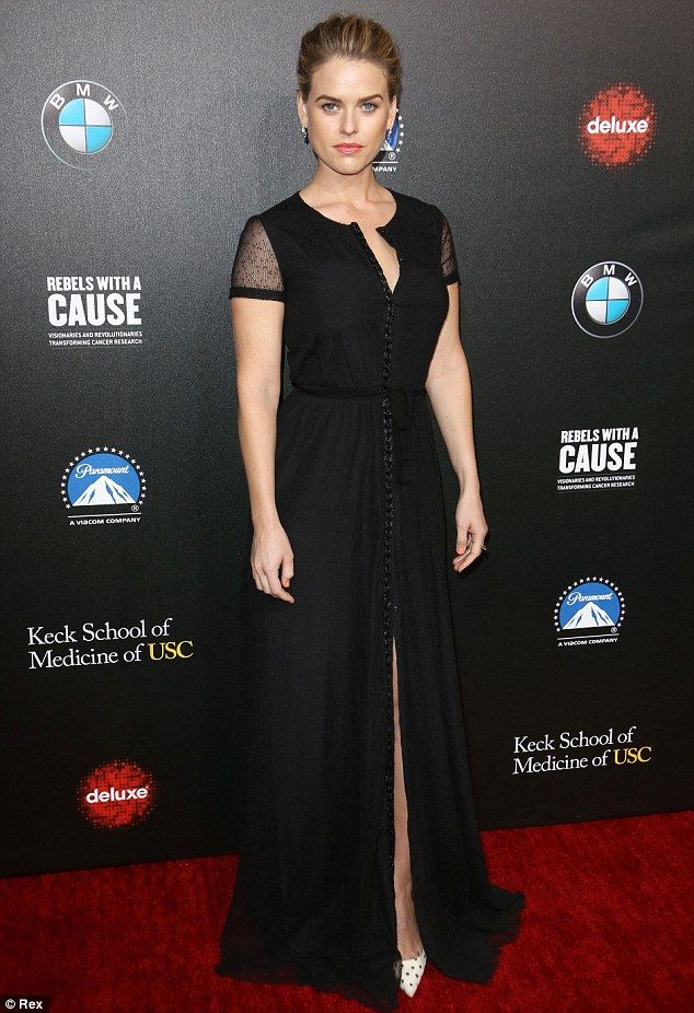 Alice Eve + gown