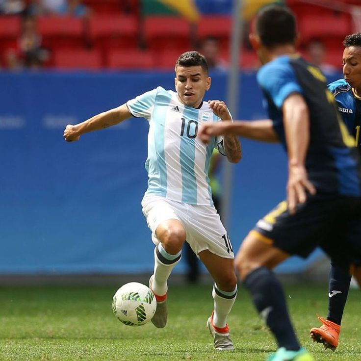 Atletico Madrid's Angel Correa aims to fill Lionel Messi's shoes for Argentina