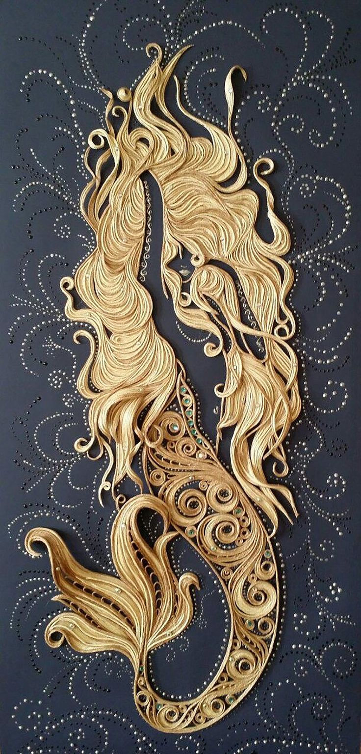 Click for more pics! Top 20 Amazing Examples of Quilling - Iriška Sergeeva Quilled Paper Art #quilling #paperart