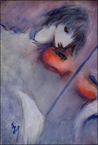 Viulisti by Elvi Maarni