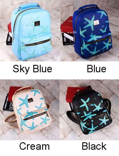 Cartoon Starfish Printing Leisure Traveling Backpacks | Fashion Backpacks | Fashion Bags- ByGoods.Com