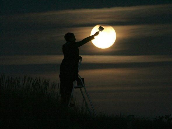 """""""Moon Games"""" by Laurent Laveder   Just Imagine - Daily Dose of Creativity"""