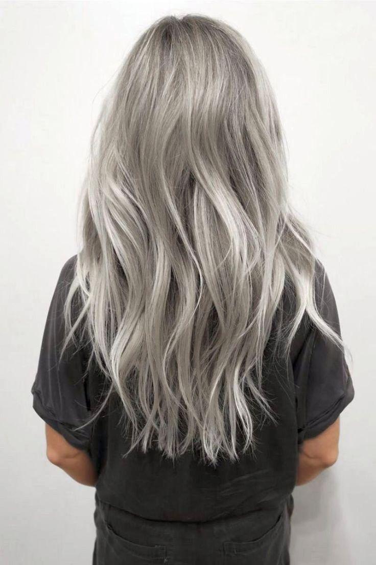 Серо-пепельный цвет волос фото