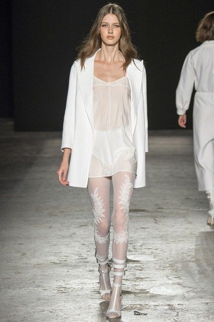 Milan Fashion London Day 1 Francesco Scognamiglio Spring/Summer 2015  Ready to wear  17 September 2014