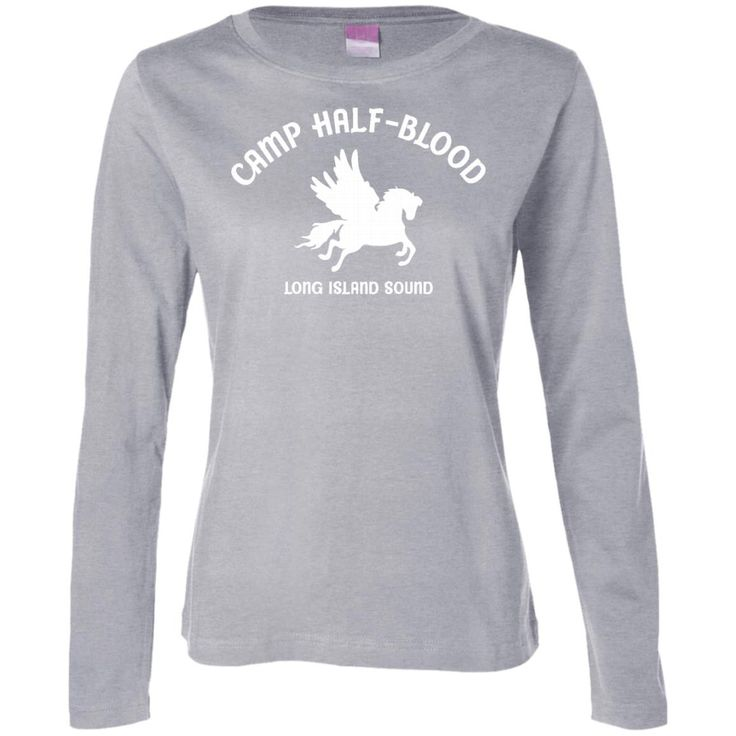 Camp half blood women 39 s t shirt cool demigods shirts 01 for Women s long sleeve camp shirts