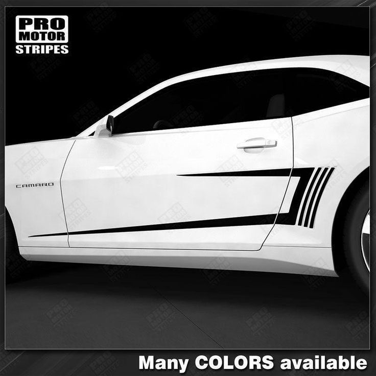 Chevrolet Camaro 2010-2015 Side Accent C-Stripes w/ Gills Decals
