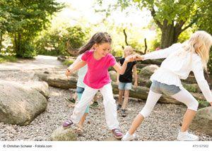 Ein Mutproben-Parcours für den Kita-Garten
