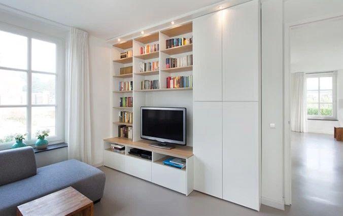 woonhome-boekenkast-boeken-kast-tv-tvkast-televisiekast.jpg 676×426 pixels