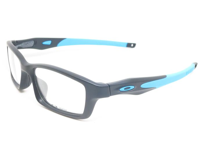 Oakley Crosslink OX8027-0153 Satin Black / Sky Blue Eyeglasses