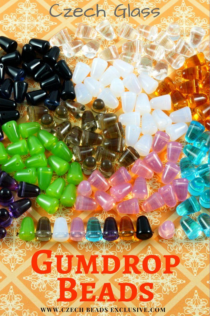 Czech Glass Gumdrop Beads  14 Colors! - Buy now with discount!  Hurry up - sold out very fast! www.CzechBeadsExclusive.com/+gumdrop SAVE them! ??Lowest price from manufacturer! Get free gift! 1 shipping costs - unlimited order quantity!  Worldwide super fast ?? shipping with tracking number! Get high wholesale discounts! Sold with  at http://www.CzechBeadsExclusive.com #CzechBeadsExclusive #czechbeads #glassbeads #bead #beaded #beading #beadedjewelry #handmade #etsy #dawanda #amazon #diy…