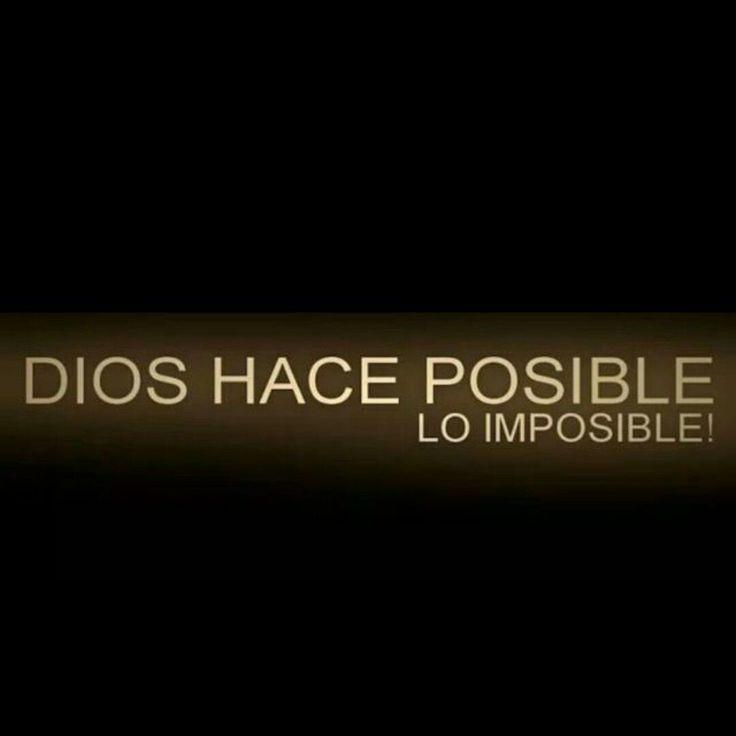 La grandeza de Dios no tiene limites <3
