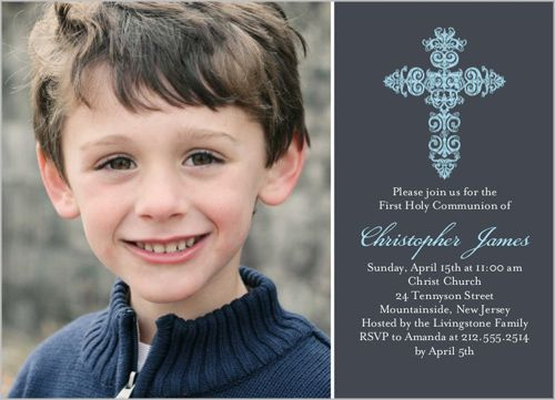 New First Communion Announcements and Invitations from Shutterfly