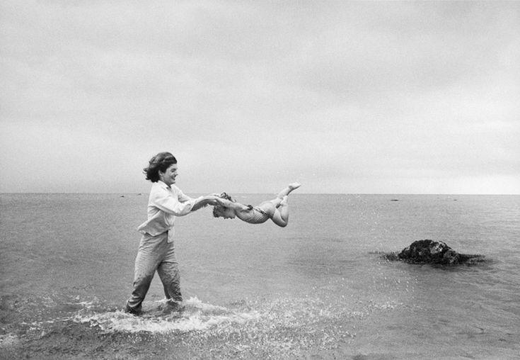 Jacqueline Kennedy ... A divine moment captured on film.