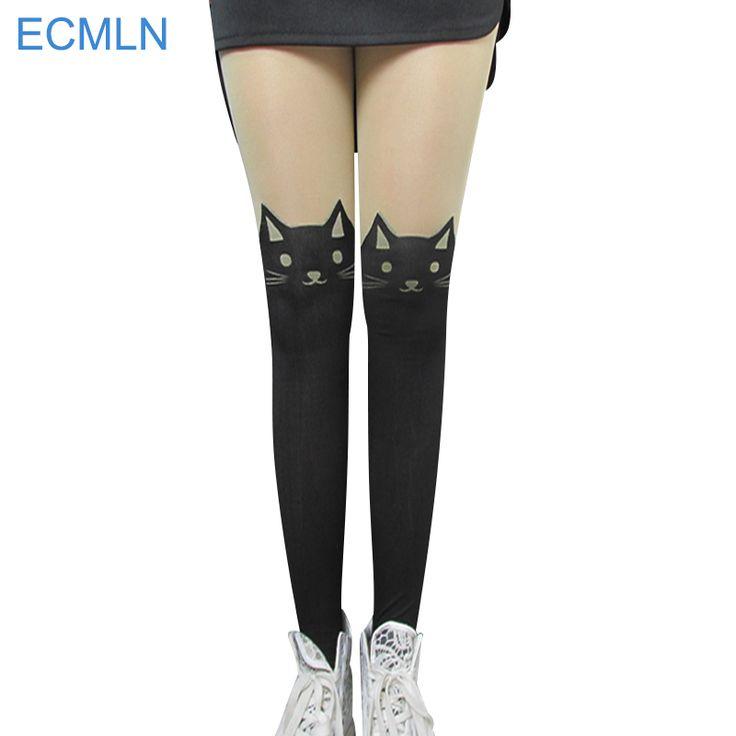 Vendita calda! moda regali di modo delle nuove donne calze di seta collant a coste più cat coniglio sottili sexy collant