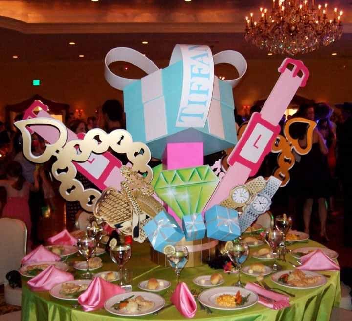 Tiffany Themed Party For Keira S 18th Birthday: Tiffany Birthday Party