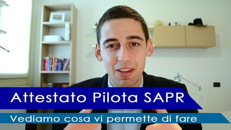 """Attestato di Pilota SAPR, il """"patentino per il drone"""" - Cosa vi permette..."""
