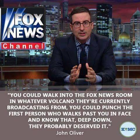 John Oliver on #Foxnews                                                                                                                                                                                 More