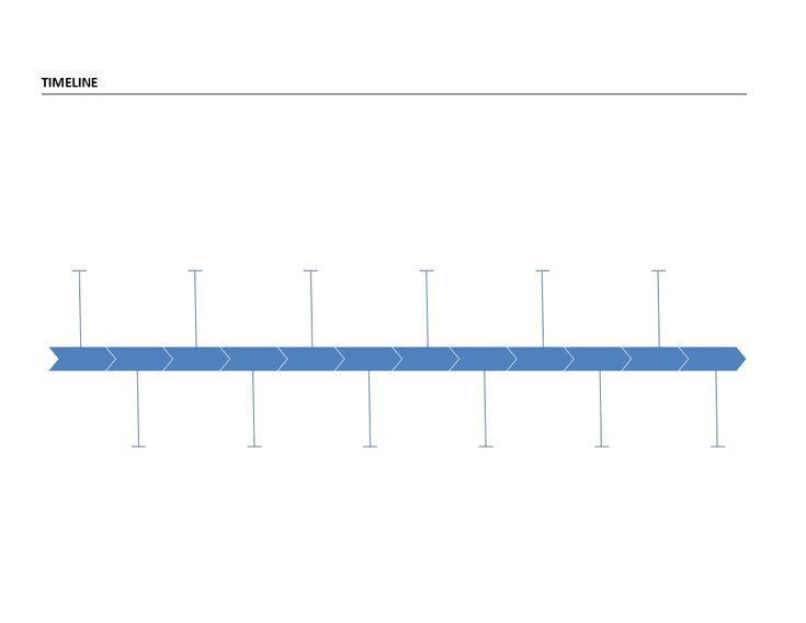 Fishbone Diagram Timeline  Fishbone Diagram Timeline  Templates