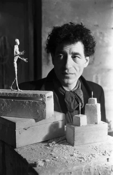 """Alberto Giacometti - """"Artistically I am still a child with a whole life ahead of me to discover and create. I want something, but I won't know what it is until I succeed in doing it."""""""