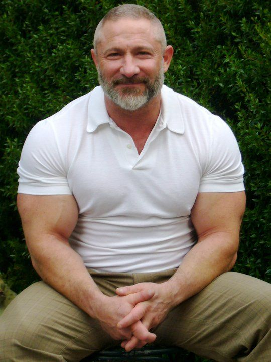 Muscle old men hair hot wallpaper of gay