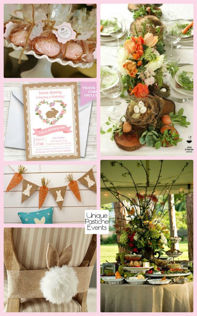 Rustic Spring Baby Shower Ideas #IdeaBoard #InspirationBoard