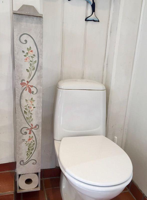 förvaring av toalettpapper
