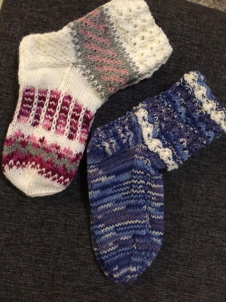 Kaverille ja puolison mummille sukat
