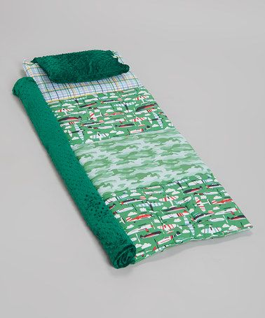 Janiebee Nap Mats on Zulily TODAY  Loving this Green Aviator Personalized Quilted Nap Mat on #zulily! #zulilyfinds