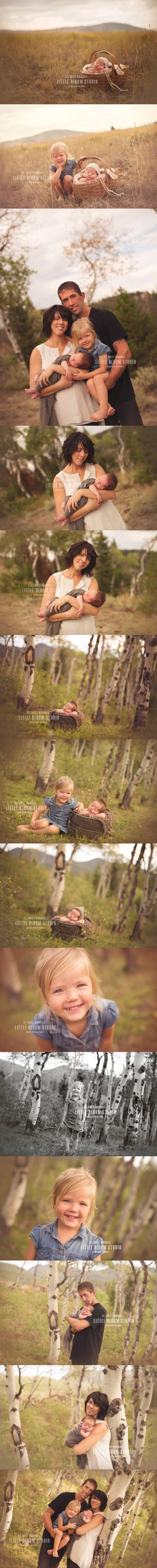 Outdoor newborn  © Brittany Woodall   Little Bloom Studio 2013
