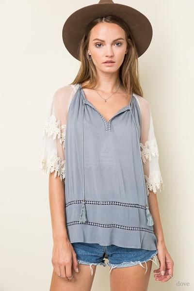 Boho Love Blouse