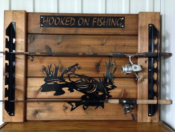 17 best ideas about fishing rod rack on pinterest | fishing pole, Fishing Reels