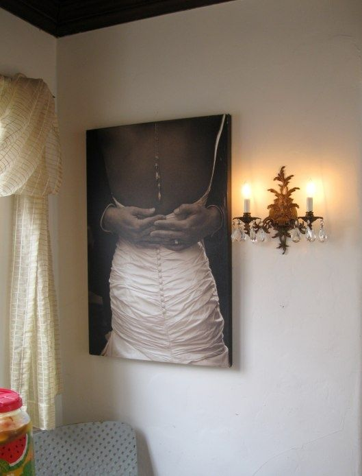 Turn the most unique details of your wedding into canvas prints, which also adds a romantic vibe to any room.  Get started! http://www.pictureframes.com/Photos-Printed-On-Canvas?utm_source=Pinterest&utm_medium=Social%20Media&utm_campaign=051415_CanvasPrinting