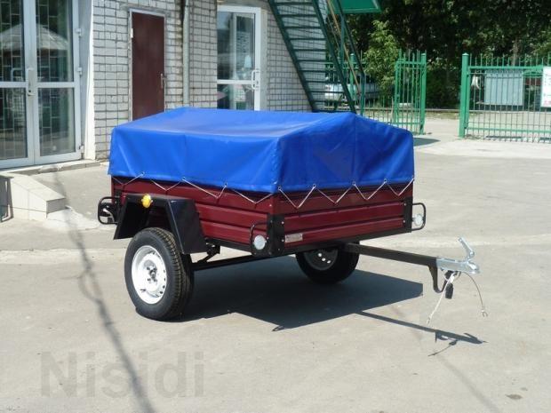 Продам новый легковой прицеп ЛЕВ - 16 грузовой 1-о осный. https://nisidiua.com/ukraina/20-pritsepy/