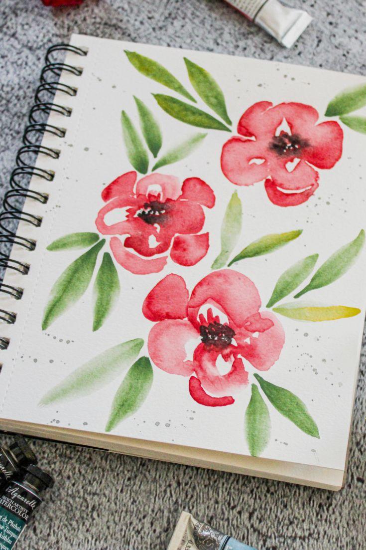 Titel Early Winter Medium Sennelier Honig Basierende Watercolor