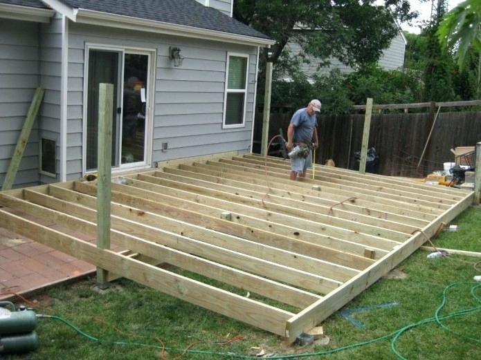Deck Plans Deck Building Ground Level Patio Deck Designs