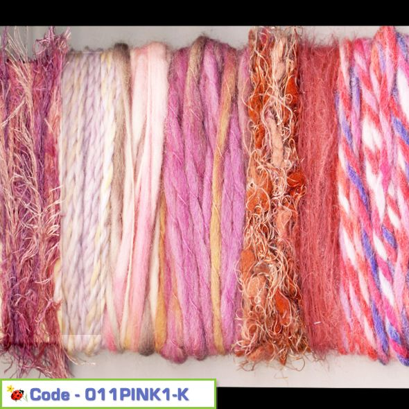 Fancy Yarn Craft Pack - Pink Candy 01