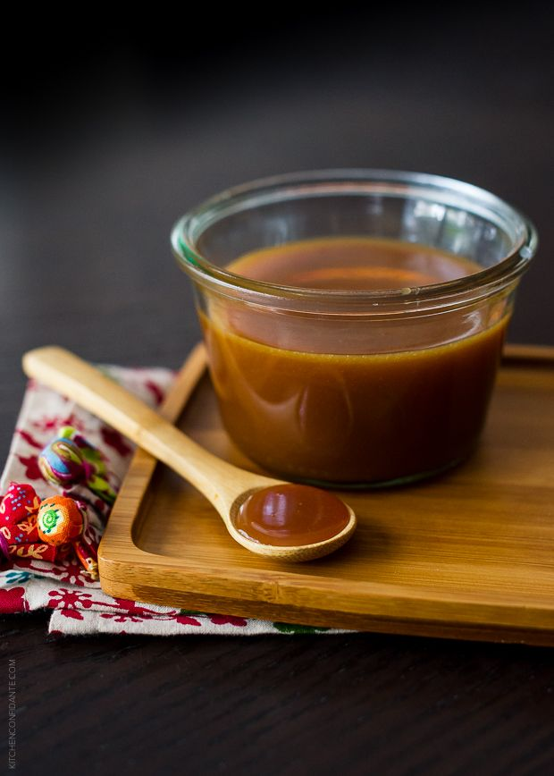10 Minute Microwave Salted Caramel Sauce