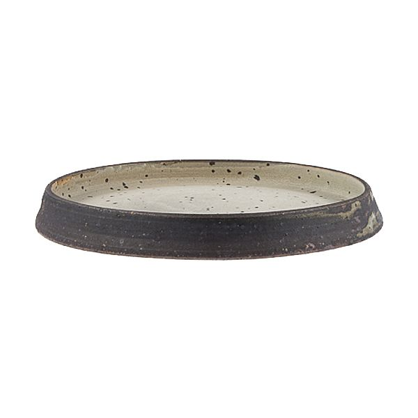 Bungoro - Keramik Teller reversible   Handgemachtes Geschirr