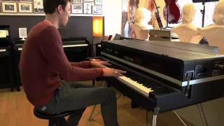yamaha cp70 - YouTube