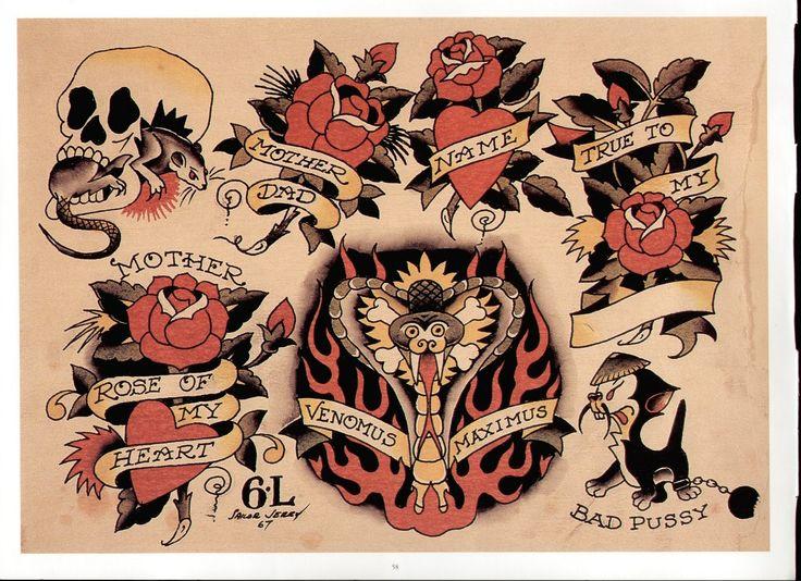 41+ Astonishing Sailor jerry tattoo flash volume 3 image ideas