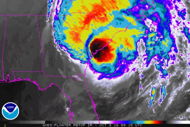 The latest on Hurricane Matthew Posted on 8 October, 2016by Met Office Press Office Hurricane Matthew has continued to slowly weaken and is currently a category 2 on the Saffir-Simpson Hurricane Wind Scale.  Matthew is expected to move north, then northeast through the rest of Saturday along the coast of South Carolina, before turning east into the North Atlantic during Sunday.
