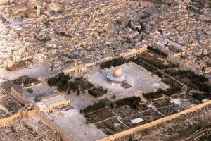 During his self-imposed exile, al-Ghazali lived in the al-Aqsa Mosque.