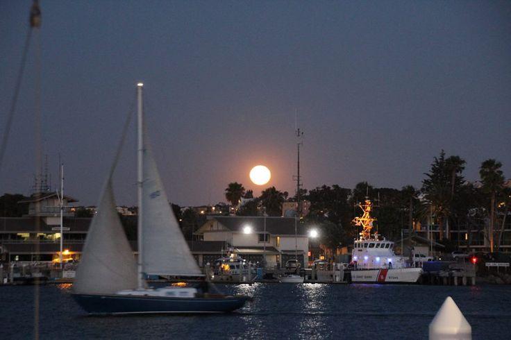 full moon date night