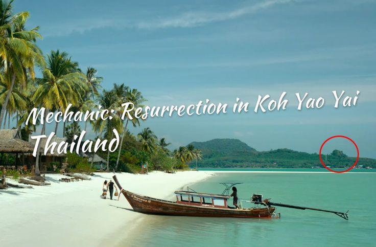 Jason Statham and Jessica Alba's Mechanic: Resurrection in Thailand