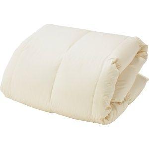 高品質ポーランド産 ホワイトグースダウン95% 生毛(うもう)ふとん PR-310(本掛/シングルサイズ/150×210cm)【羽毛布団】【日本製】
