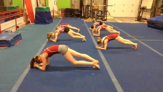 """Watch the best viral, funny, crazy and cute videos on http://www.buzzmister.com   So funny and cool """"Uptown Funk"""" Abs workout routine at Gymtastics Gym Club"""
