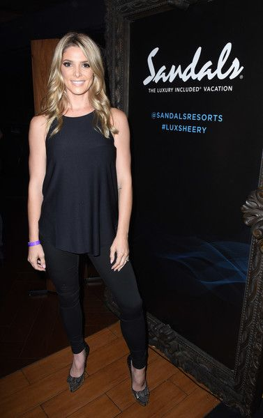 Ashley Greene Photos - Ashley Greene attends a private event at Hyde Staples Center hosted by Sandals Resorts for the Ed Sheeran concert at Hyde Lounge at The Staples Center on August 10, 2017 in Los Angeles, California. - Sandals Resorts Hosts Private Event at Hyde Staples Center for Ed Sheeran Concert