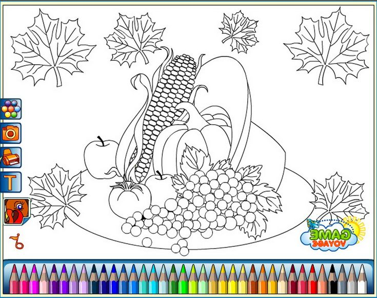 178 best fruits and vegetables images on Pinterest   Coloring ...
